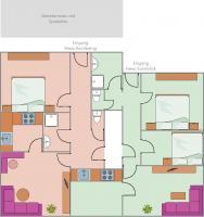 Brunnerhof Zimmerplan